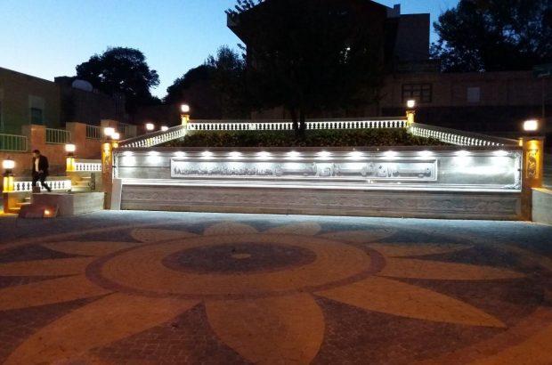 اتمام طرح نورپردازی شهری در نمین