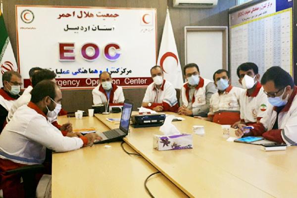 آمادگی هلال احمر اردبیل برای کمک به زلزله زدگان ترکیه