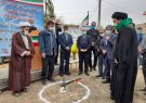 کلنگ زنی احداث ۵ واحد مسکونی برای نیازمندان با نام پنج تن آل عبا در بیله سوار