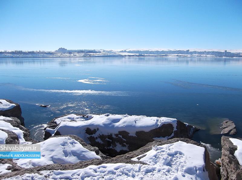 شورابیل در زمستان / تصاویری از منطقه گردشگری شورابیل در اردبیل