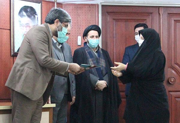 مدافعان سلامت منتسب به دادگستری استان اردبیل تجلیل شدند