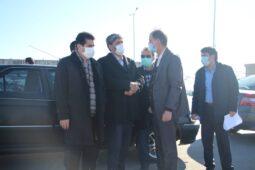 بازدید رئیس کل دادگستری استان از پروژههای در حال احداث شهرداری اردبیل + تصاویر