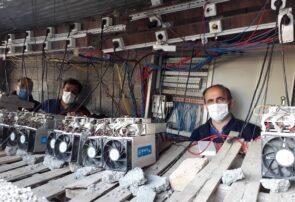 کشف ۳۹ دستگاه رمز ارز غیرمجاز در شهرستان پارس آباد