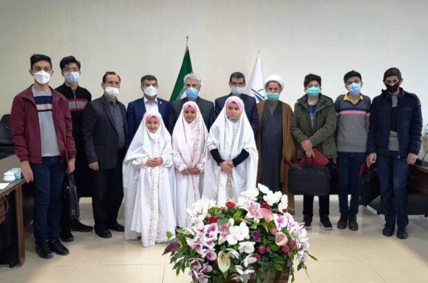 برگزاری مراسم جشن تکلیف فرزندان کارکنان اداره کل فرودگاههای استان اردبیل