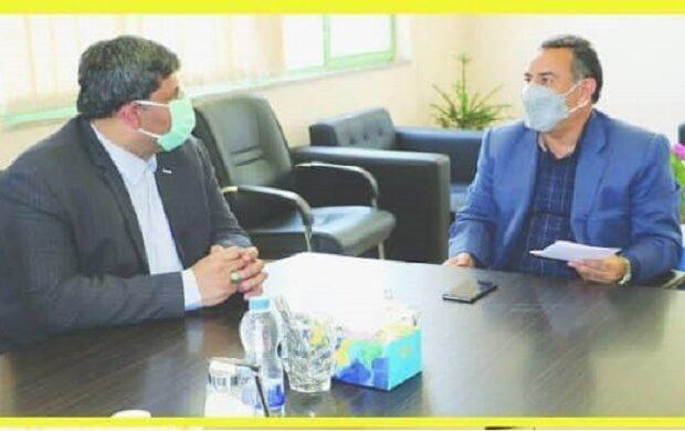 ⭕دیدار مدیرکل محیط زیست استان اردبیل و هیئت همراه با مدیرعامل و اعضای هیئت مدیره کشت و صنعت مغان