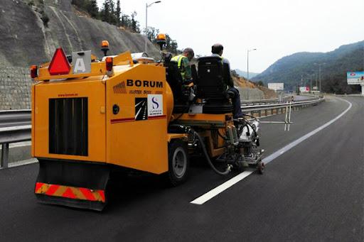 تجدید خطکشی ۱۰۰۰ کیلومتر از محورهای مواصلاتی استان اردبیل