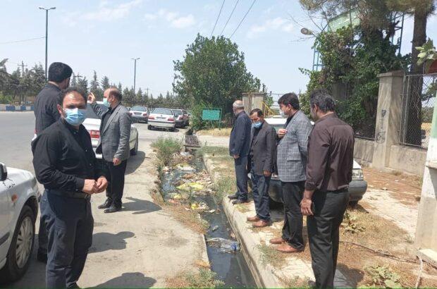 بازدید اعضای شورای اسلامی شهرجعفرآبادمغان از محلات / رئیس شورا: اعضای شورای شهر باید در کنار مردم باشند