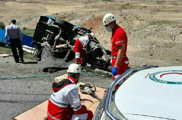 امدادرسانی هلال احمر استان اردبیل به ۲۰۴ حادثه دیده در سالجاری