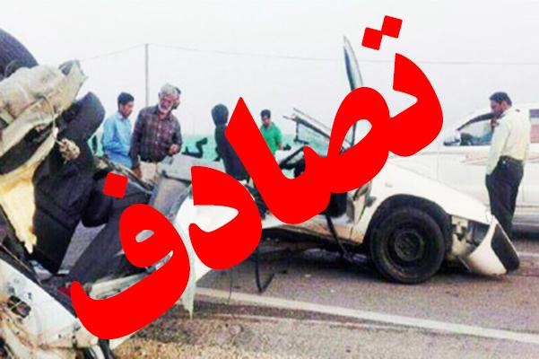 ۵ فوتی و یک مصدوم در حادثه تصادف خودروی زانتیا با برلیانس در اردبیل